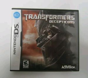 Transformers: Decepticons Nintendo DS Lite DSi XL 2DS 3DS Game TESTED for Sale in Hickory, NC
