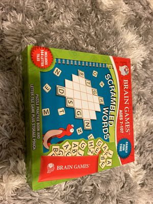 Brain games for kids!! Fun game! for Sale in Raleigh, NC
