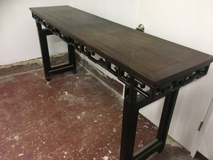Antique tall Asian console table for Sale in San Francisco, CA