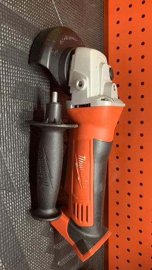 Milwaukee M18 18-Volt Lithium-Ion Cordless 4-1/2 in. Cut-Off/Grinder (Tool-Only) for Sale in Bakersfield, CA