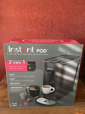 Instant pot coffee and espresso *new* for Sale in San Antonio, TX