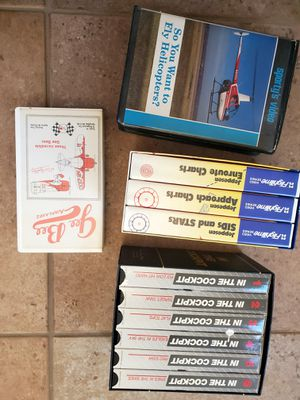 Aviation VHS tapes for Sale in Laguna Beach, CA