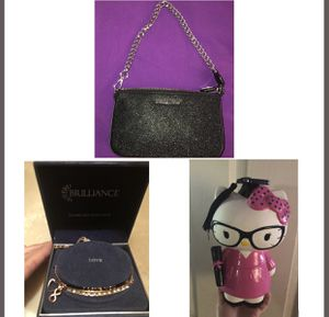 MK purse, charm bracelet & HK bank for Sale in Stockton, CA