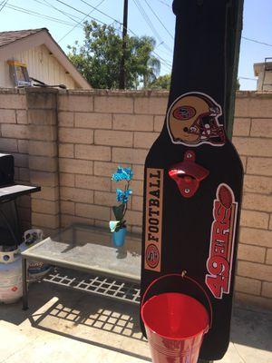 San Francisco 49ers Flags, San Francisco 49ers Beer bottle opener, San Francisco 49ers Hats, San Francisco 49ers Jerseys, San Francisco 49ers Outdoo for Sale in La Habra, CA