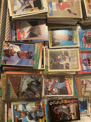 Lots Of 90s Baseball Cards, Fleer, Donruss, Topps, Leaf, Upper Deck, Score, Etc for Sale in Los Angeles, CA
