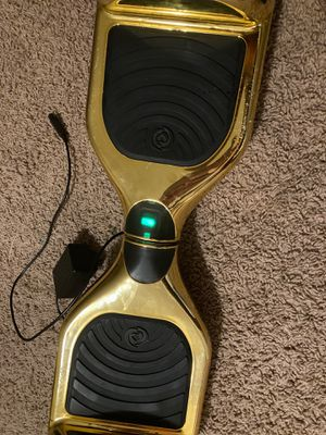 Gold hoverboard for Sale in Raleigh, NC