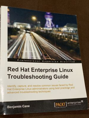 Red Hat Enterprise Linux Troubleshooting Guide for Sale in Des Plaines, IL