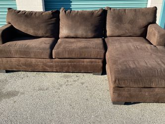 Free Delivery 🚚 Beautiful Brown Sectional Couch for Sale in Ontario,  CA