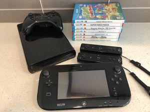 Nintendo Wii U with extras for Sale in Seattle, WA