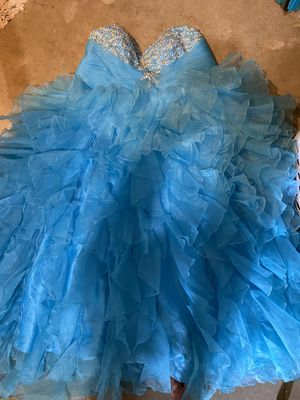prom/formal/quinceanera dress for Sale in Houston, TX