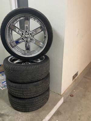 22's Rines y llantas/ 22 's wheels and Tires for Sale in Lemoore, CA