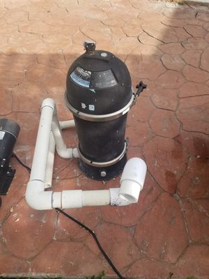 Pool pump and filter for Sale in Biscayne Park, FL