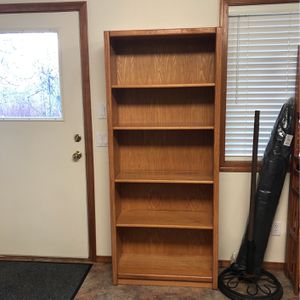 Wooden Bookshelf for Sale in Hillsboro, OR
