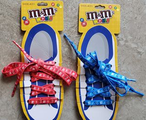 New M&M's world shoelaces for Sale in Monrovia, CA
