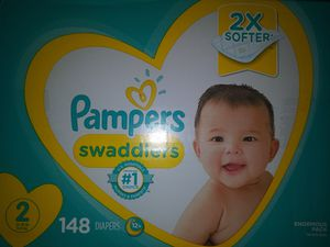 PAMPERS SWADDLERS for Sale in Moreno Valley, CA