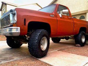 1978 Chevy C10 V8 Short Bed 1/2 Ton 4X4 Truck Chevrolet for Sale in Phoenix, AZ