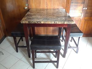kitchen table with three seats for Sale in Clifton, NJ