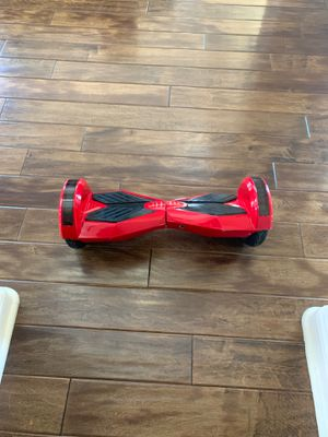 Bluetooth hoverboard with lights, charger and case for Sale in San Diego, CA