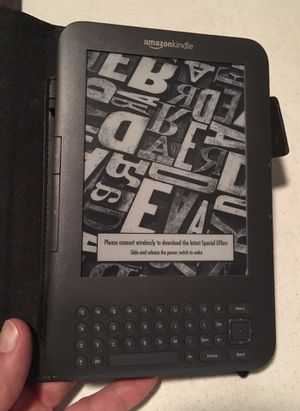 Kindle Keyboard with case Amazon for Sale in Atlanta, GA