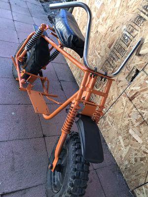 Mini Bike Frame With Custom Alligator Seat $150 OBO for Sale in San Leandro, CA