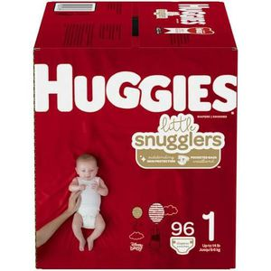 Huggies size 1 96 count have 3 boxes asking 20$ each for Sale in Kent, WA