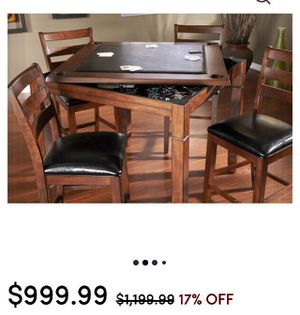 Poker table/ dining table for Sale in Brownwood, TX