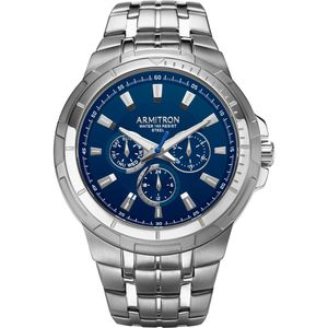 Armitron Men's Multi Function Silver Tone Bracelet 46mm Watch 20/5144NVSV -2 for Sale in BETHEL, WA