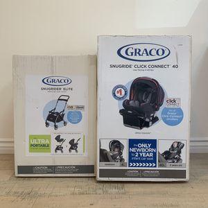Graco SnugRide® Click Connect™40 & SnugRider® Elite Stroller for Sale in Los Angeles, CA