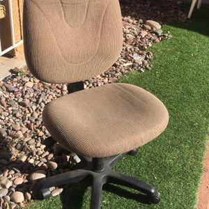 Good Condition Computer Desk Chair 35 Firm I Can Deliver If Needed All Adjustments Work for Sale in Las Vegas, NV