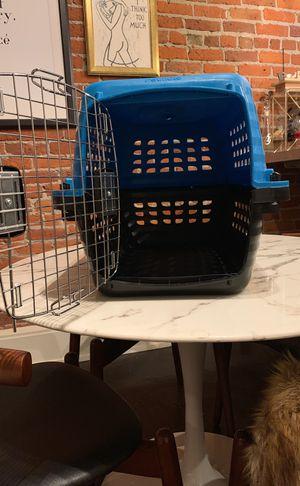 Pet mate blue pet crate for Sale in Seattle, WA