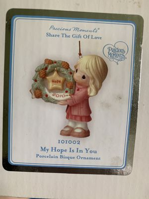 My hope is in you ornament Precious moment for Sale in Tampa, FL