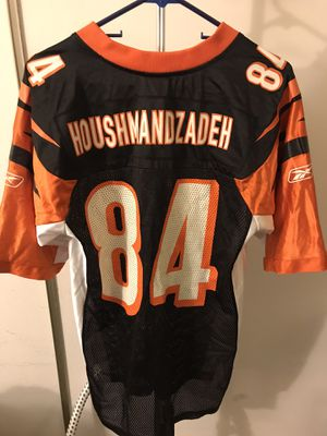 Cincinnati Bengals football jersey TJ Houshmandzadeh 84 size small reebok for Sale in Las Vegas, NV