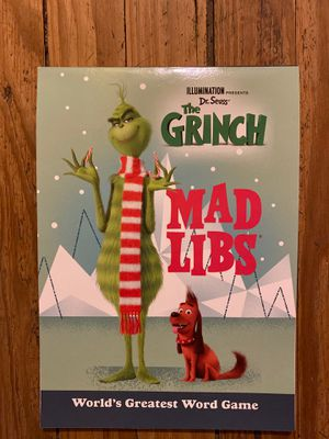 Grinch mad libs for Sale in Charlottesville, VA