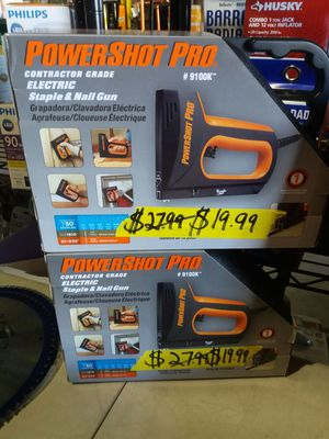 PowerShot Pro Electric staple and nail gun for Sale in Phoenix, AZ