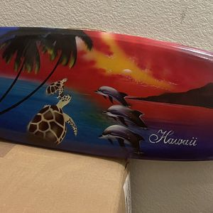 Decor - 3 Ft Wooden surfboard for Sale in San Jose, CA
