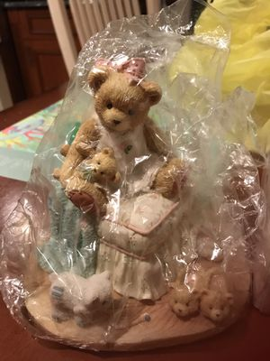 Cherished Teddies statue-new from 1995 for Sale in Marlboro Township, NJ