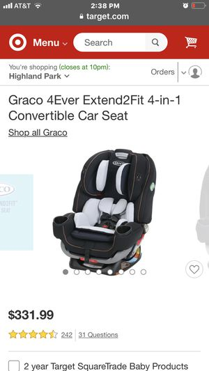 Brand new Car seat. Retails for $340. Selling for $220. Purchased new last week and used 1 time. for Sale in Third Lake, IL