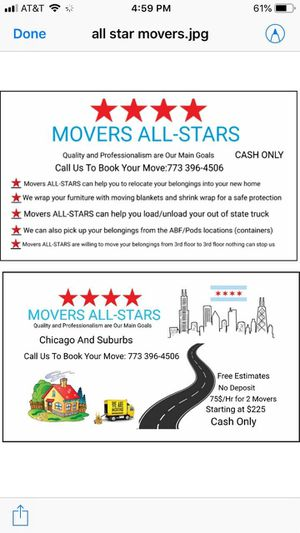 Moving Company for Sale in Chicago, IL