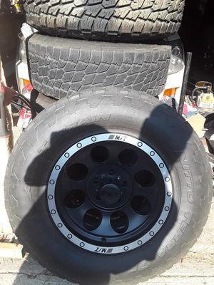 Jeep Wrangler wheels for Sale in Downers Grove, IL