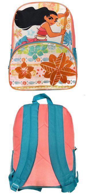 NEW! Disney Moana Backpack Mickey Disneyland Hawaiian Hawaii tropical islander travel bag book bag kids bag back to school for Sale in Carson, CA