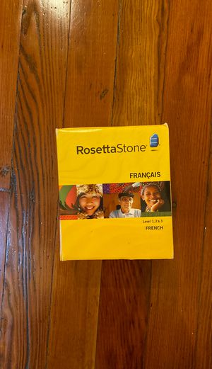 Rosetta Stone Francais French for Sale in Los Angeles, CA