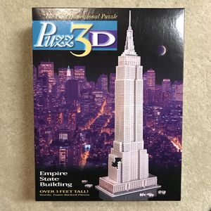 Empire State Building 3D Puzzle for Sale in Burtonsville, MD