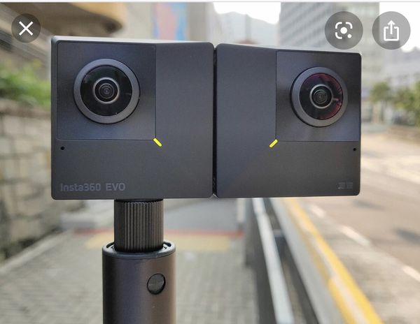 VR Camera Insta 360 EVO