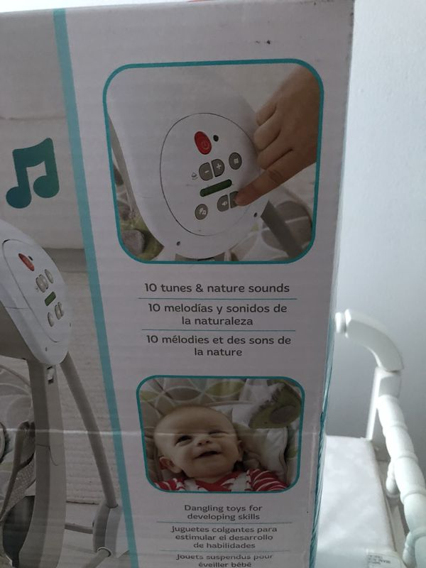 BRAND NEW Fisher Price Deluxe Take-Along Swing & Seat