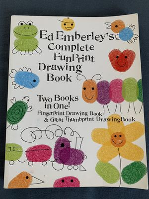 Ed Emberley's Complete Fun Print Drawing Book for Sale in Glendale, CA