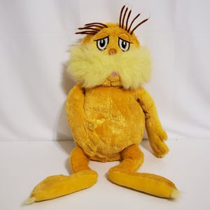 """Kohl's Cares Dr Seuss Plush The Lorax Yellow 16"""" Tall Stuffed Toy Animal Kids for Sale in Brookfield, IL"""