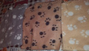 3 paw blankets for your doggie for Sale in Fresno, CA