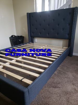BRAND NEW BED FRAME QUEEN COMES IN BOX 📢📢📢📢📢📢MATTRESS INCLUDED 📢📢📢📢📢IN STOCK 📢📢📢📢📢📢 for Sale in Compton, CA