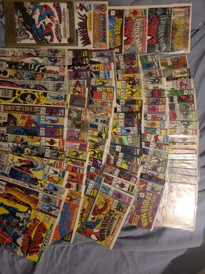 100 plus spiderman spider man marvel comic books for Sale in Thomaston, CT