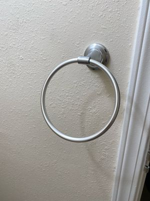 Hand towel rings (selling 2pcs) for Sale in San Diego, CA